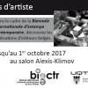 Exposition de livres d'artiste au salon de la bibliothèque Roy-Denommé