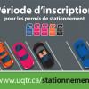 Période d'inscription pour les permis de stationnement
