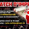 Création d'une ligue d'improvisation à Drummondville