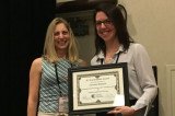 L'étudiante Caroline Mireault remporte le H. Ward Smith Award 2017