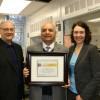 Le Syndicat du personnel professionnel de l'UQTR honore quatre membres