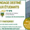 Sondage destiné aux étudiants du Campus de Drummondville