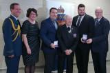 Alex Fontaine et Philippe L. Depatie reçoivent la médaille du Lieutenant-gouverneur pour la jeunesse