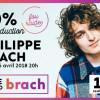 Offre exclusive du Bureau des diplômés: 50% de rabais pour le spectacle de Philippe Brach à la Maison des arts Desjardins Drummondville