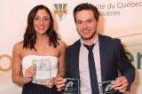 Justine Ricard et Christophe Boivin nommés Patriotes de l'année
