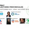 Les candidats de la circonscription de Trois-Rivières débattent sur le campus