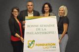 Des partenaires commerçants de l'UQTR se mobilisent pour la Semaine de la philanthropie