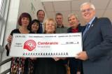 L'UQTR fait un don de 32 785 $ à Centraide Mauricie