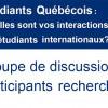 Étudiants québécois recherchés
