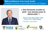 Midi-conférence avec Louis Audet, président exécutif du conseil d'administration de Cogeco