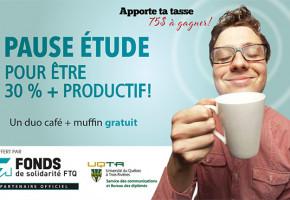 Apporte ta tasse et obtient un duo «café et muffin» gratuit!