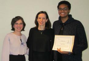 Engagement et partage autochtone: un prix pour l'étudiante Soukeyna Desbiens