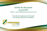 Venez rencontrer la Fondation de l'UQTR