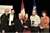 Le Lieutenant-gouverneur du Québec honore quatre étudiants de l'UQTR