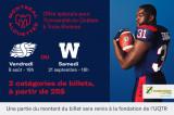 Offre exclusive: Billets pour les Alouettes de Montréal à partir de 25$!
