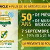 Découvrez les artistes du spectacle «UQTR – 50 ans de présence»