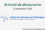 Visite de l'Institut de recherche sur l'hydrogène (IRH)