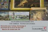 Prochaine exposition et vernissage à la Galerie R3 – ÈVE CADIEUX. TOUTES CES CHOSES.