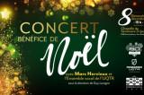 Concert bénéfice de Noël avec Marc Hervieux et l'Ensemble vocal de l'UQTR