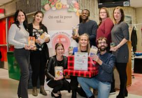 Le VREF et Le Bon Camarade vous invitent à offrir des denrées alimentaires pour les étudiants
