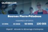 Bourses Pierre-Péladeau 2020 pour l'entrepreneuriat étudiant
