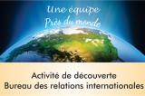 Une occasion unique pour découvrir l'apport du Bureau des relations internationales au déploiement de l'UQTR dans le monde