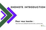 EndNote Introduction