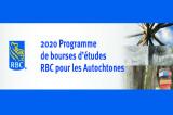 Programme de bourses d'études RBC pour les Autochtones 2020