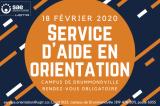 Le Service d'aide en orientation au campus de Drummondville