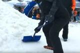 Les risques du pelletage l'hiver
