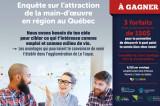 Étudiants de l'UQTR: dans quelle organisation et région souhaitez-vous faire carrière?