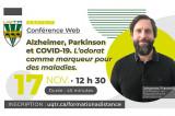 Alzheimer, Parkinson et COVID-19. L'odorat comme marqueur pour des maladies