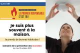 Semaine de la prévention des incendies «Le premier responsable, c'est toi»