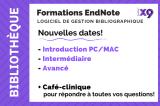 Formation de la bibliothèque : EndNote Avancé