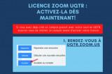 Activez votre licence Zoom UQTR dès maintenant!