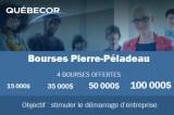 Bourses Pierre-Péladeau 2021 pour l'entrepreneuriat étudiant
