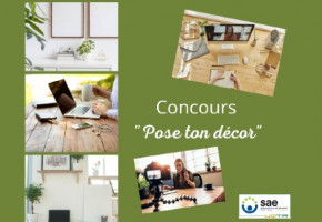 Concours «Pose ton décor» (prix : cartes Visa de 100$ et de 50$)