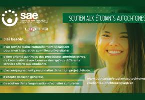 Le Soutien aux étudiants autochtones… c'est quoi?