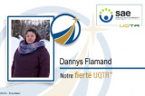 Dannys Flamand, notre Fierté UQTR