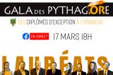 Venez féliciter les lauréats du 9e Gala des Pythagore!