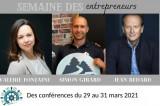 Semaine des entrepreneurs – 29 au 31 mars 2021