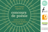 Concours de poésie du Zone Campus