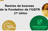 Remise des bourses de la Fondation de l'UQTR