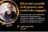 Invitation à la conférence de Line Chamberland, lauréate du Prix d'excellence du partenariat 2020