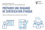 Préparer une demande de certification éthique (en ligne)