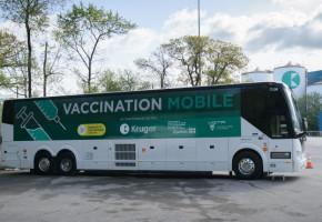 L'autobus de vaccination s'arrête à l'UQTR le 22 juin