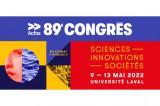 Toujours temps de s'inscrire au 89e congrès de l'Acfas