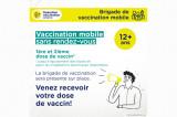 Opération vaccination COVID-19 au Campus de Drummondville