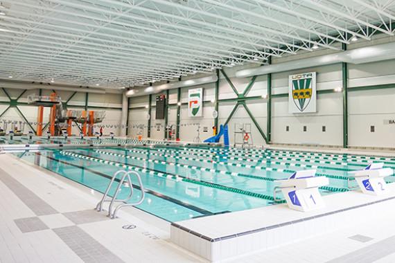 Essai gratuit à la piscine du CAPS pour le personnel UQTR