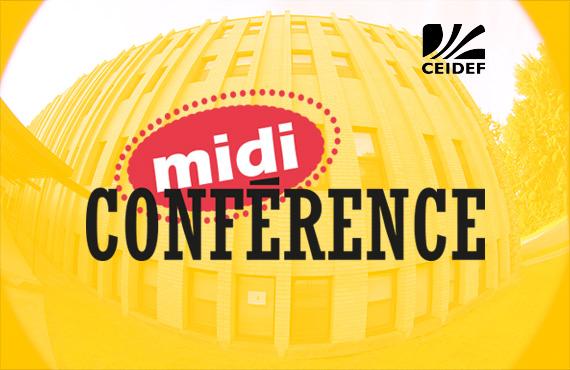 Signature des midi-conférence au CEIDEF